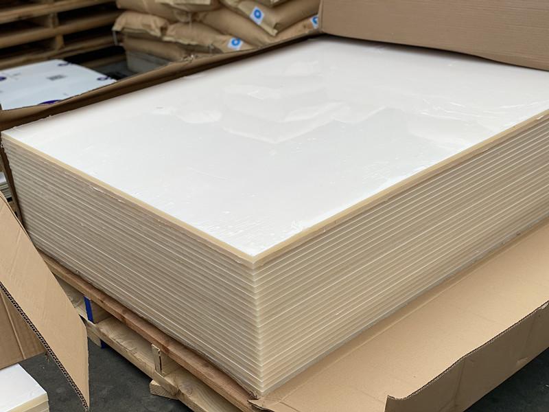 PVDF白色板
