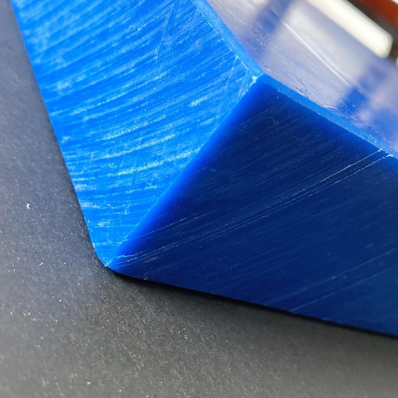 蓝色PE板